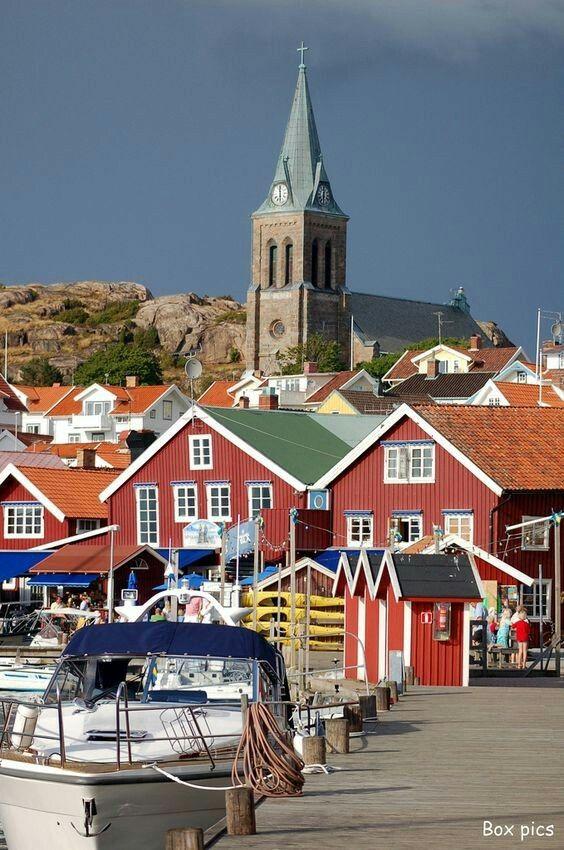 Fjallbacka, Sweden #swedentravel