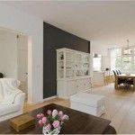 Halve muur schilderen in de woonkamer | Interieur inrichting