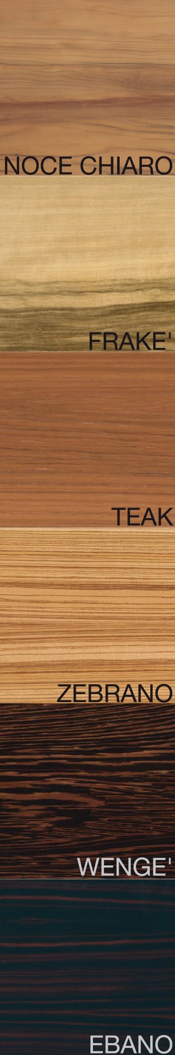 Le Essenze: Le Essenz, Wood, Palettes