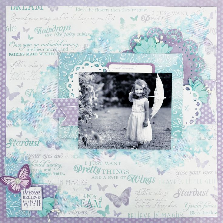 Inspired by the Fairy Dust Collection from Kaisercraft - available at…