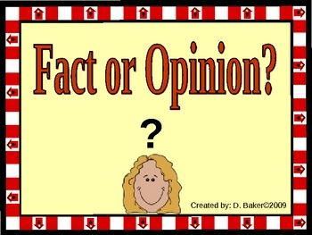 difference between fact and opinion pdf