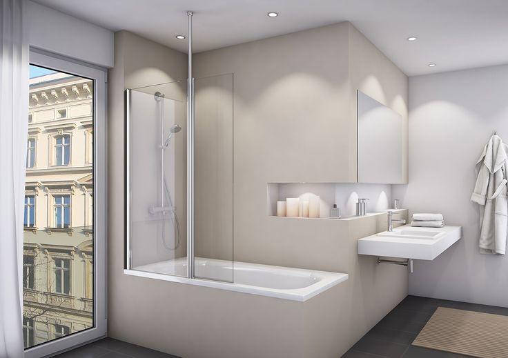 16 best duschw nde f r badewannen images on pinterest. Black Bedroom Furniture Sets. Home Design Ideas