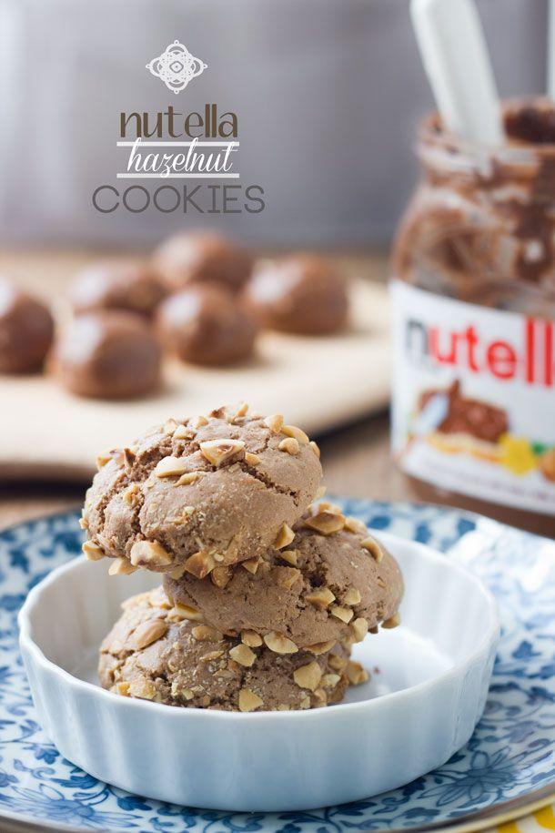 nutella nutella hazelnut hazelnut cookies nutella chocolate cookies ...