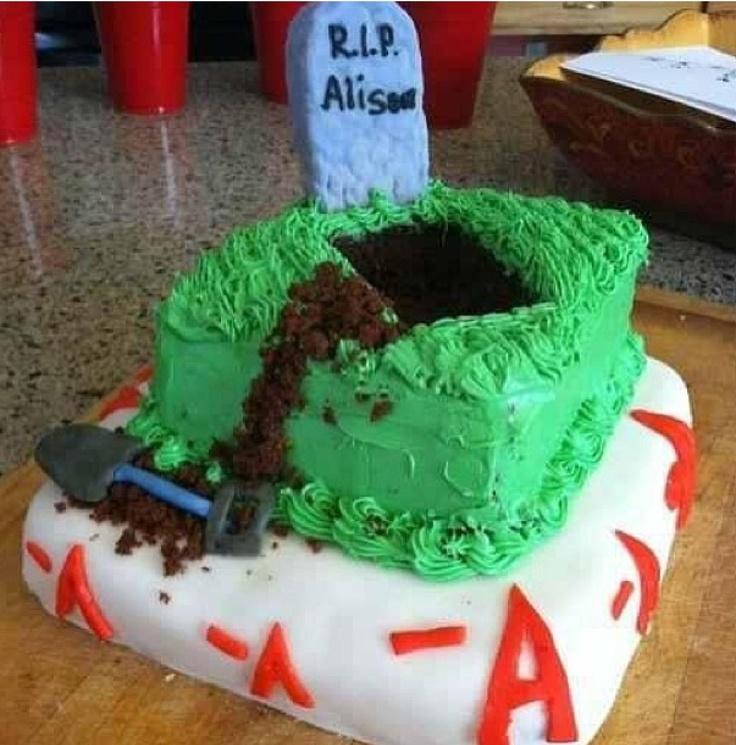 Pretty little liars cake? #yes