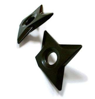 Ninja Weapon Fridge Magnets - These throwing star fridge magnets are perfect for when you have a memo that requires urgent attention. They also happen to be the #1 exclusive sel...