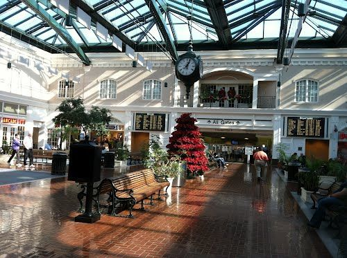 airport in savannah ga | Panoramio - Photo of Airport Lobby, Savannah, GA