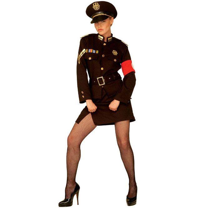 Disfraz de Marlene Militar para mujer