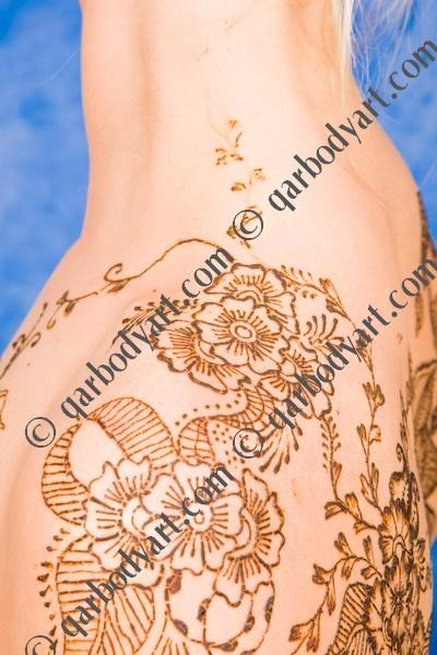 Lovely henna flowers