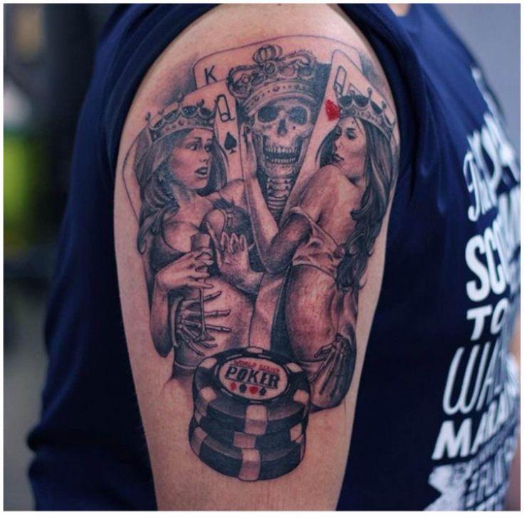 28 Best Skull King Tattoo Images On Pinterest