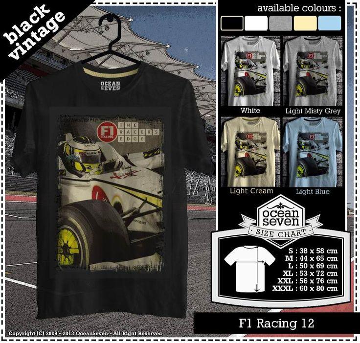Kaos Balap F 1 | Formula One Racing  series 1