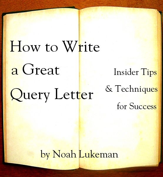 writing a query letter for dummies