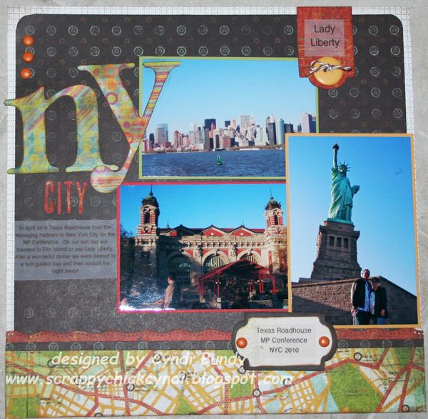 NYC Subway Scrapbooking Layouts | out a few pics from our 2010 new york trip
