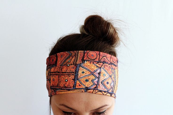 Ethnic Boho Headband unique gift for her Headband Workout headband Head Wrap Running Fitness Headband Yoga Headband Print Headband Y48 by SheOHandmade on Etsy https://www.etsy.com/listing/266910700/ethnic-boho-headband-unique-gift-for-her