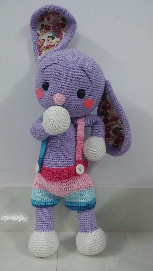 Bunny Amigurumi Anleitung : 5077 best images about AMIGURUMI FASHION on Pinterest ...