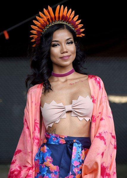 STYLECASTER | Celebrity Music Festival Looks | Jhene Aiko