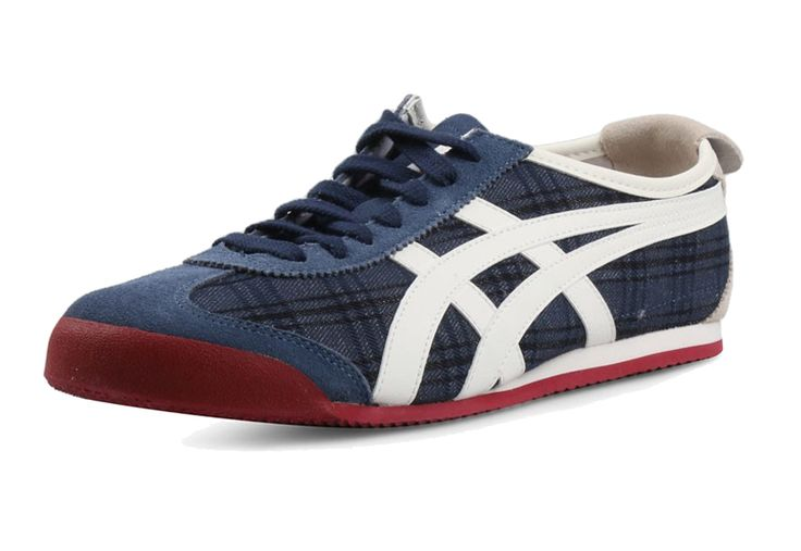 Mexico 66 Navy Off White. Bring back classic style with Onitsuka Tiger by ASICS Mexico 66 sneakers. leather and suede upper in a casual athletic sneaker style with round toe, 6-eyelet lace up front with low-profile collar and slim tongue.  http://zocko.it/LDsxp