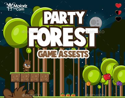 """Check out new work on my @Behance portfolio: """"Forest Game Assets"""" http://be.net/gallery/50829891/Forest-Game-Assets"""