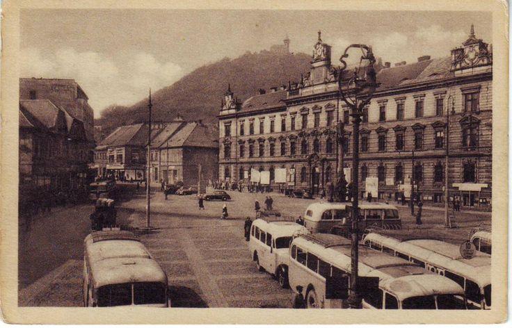 Starý Most 1.nám. autobusové a trolejbusové nádraží. Trolej.linka Souš,Ke Kopistům, Záluží a Litvínov.