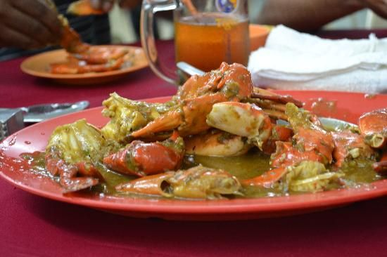 Fatty Crab restaurant KL, Malaysia - Amazing Sweet & Sour Crab