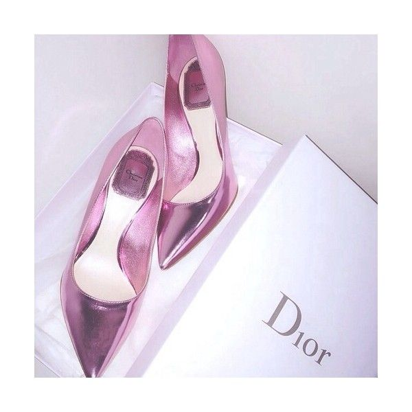 Dior Metallic Pumps