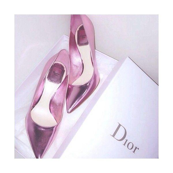 Dior Metallic Pumps
