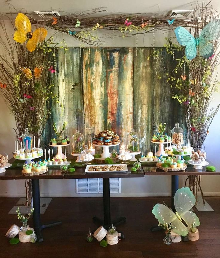 Enchanted Forest Baby Shower Party Ideas