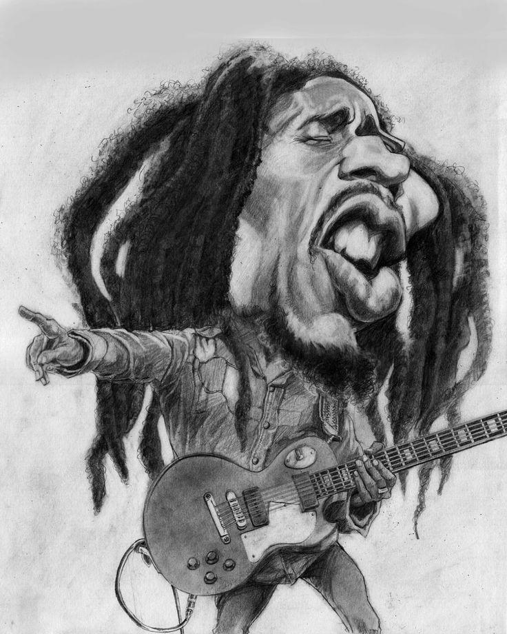 bob marley caricature - Google Search | Bob Marley ...