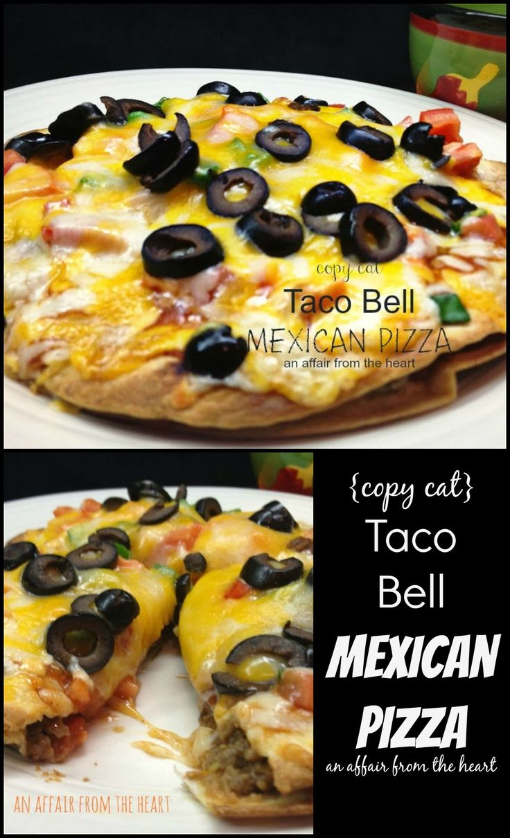 1000+ ideas about Taco Bell Mexican Pizza on Pinterest | Mexican ...
