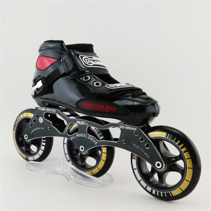 ==> [Free Shipping] Buy Best Adult Professional Roller Skates Children Inline Mens Speed Skates Patins Roller Round Cake 3 Wheel Inline Skates Shoes Online with LOWEST Price | 32615248567