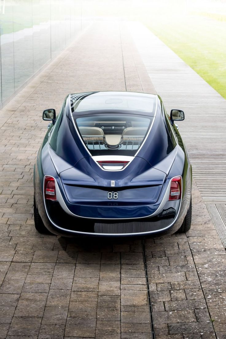 """""""Sweptail is the automotive equivalent of haute couture,"""" said Giles Taylor, director of design at Rolls-Royce Motor Cars. """"It is a Rolls-Royce designed and hand-tailored to fit a specific customer."""""""