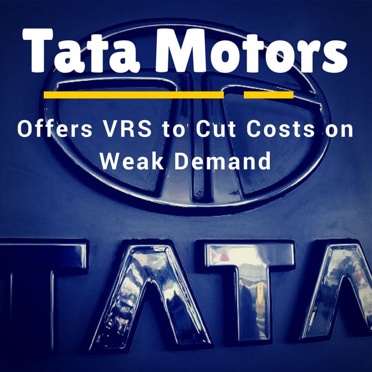 #News: Tata Motors offers VRS to cut costs on weak demand. Tata Motors, the country's largest auto maker by revenue, is cutting staff by offering a voluntary retirement scheme (VRS) to reduce costs as weak demand and falling market share forces it to streamline its Indian operations. The #Tata Group flagship, one of the oldest automobile companies in India, employs about 27,000 people in the country.
