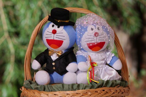 Doraemon Wedding Kitties