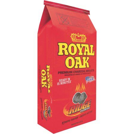 Royal Oak Charcoal Briquettes, 7.7 lb Bag, Black