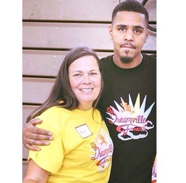 J Cole And His Mother 216 best images...