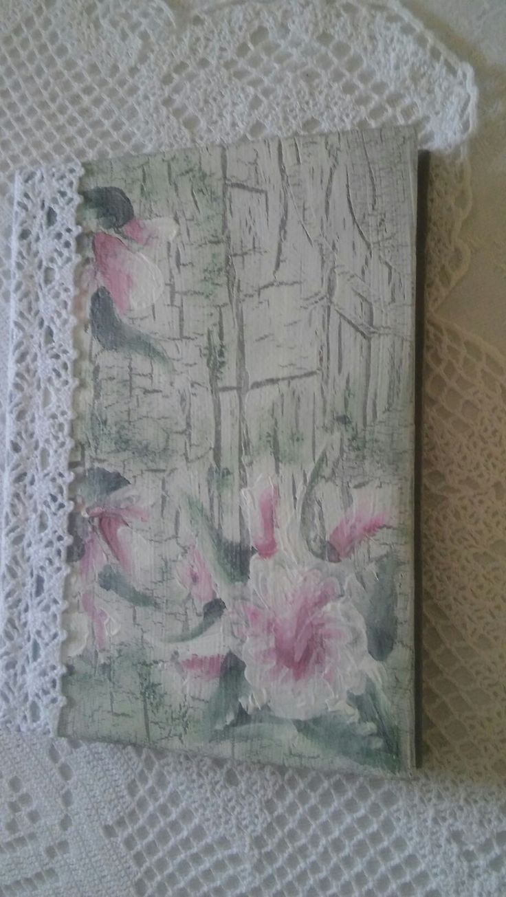Notesz A/6-os kézzel festett  (handmade) 📖