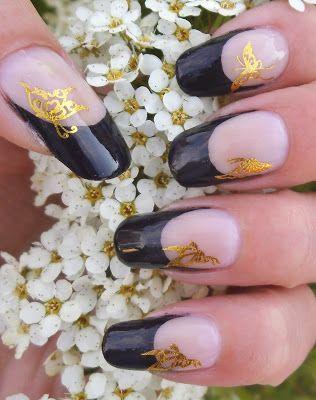 Rakkaus Kynsiin: Musta ranskis perhosilla
