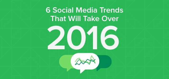 Social Trends for 2016   It is definitely time to step up and take actions when it comes to your business and its social media presence. For social marketers, 2015 was an exciting year. New platforms, software and consumer preferences brought about a host of changes and opportunities. As a result, social media—and subsequently your strategy—has evolved and will continue to do so.  #socialmedia #socialtrends