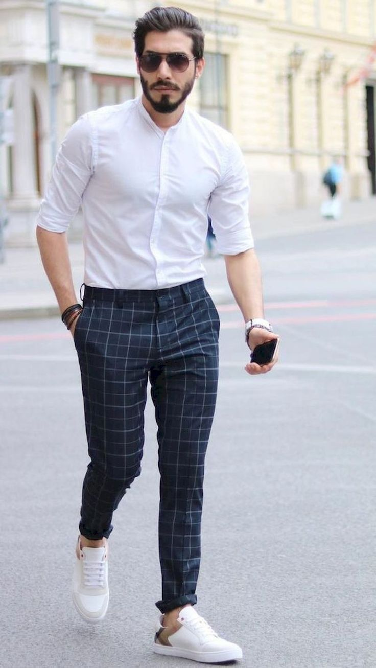 11 Comfort And Sophisticated Outfit Ideas For Men Seasonoutfit Pantalones De Cuadros Hombre Ropa Casual De Hombre Ropa De Hombre Casual Elegante