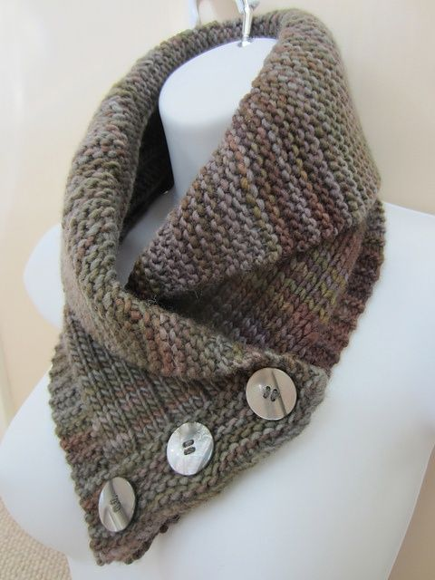 Knitting Patterns For Collar Scarf : Ravelry: TooCozys Shawl Collared Cowl. Soooo @Kathy Chan Chan Chan Knox ...