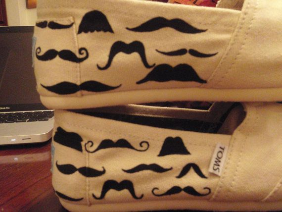 CatalindaOFFICIAL  Catalinda: Fashion Places, Best Hairstyles, Hands Paintings, Mustache Toms, Paintings Toms, Moustache Toms, Glorious Mustache, Toms Shoes, Paintings Mustache