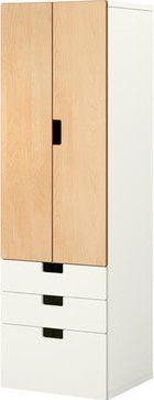 STUVA Storage combination w doors/drawers modern kids dressers