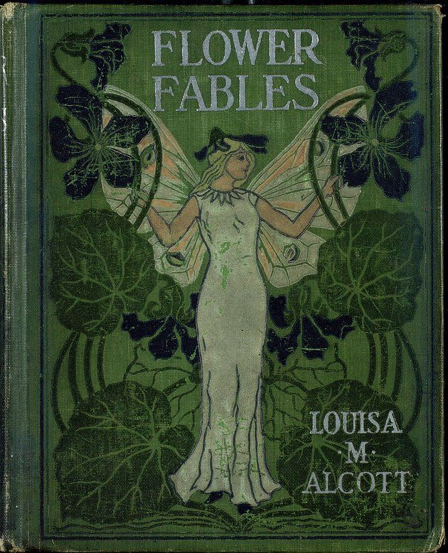 Just finished reading Flower Fables, by Louisa May Alcott. Published in1854...her first book. These stories were written when she was a teenager, very moralistic fables (a genre popular at the time), but with beautiful language and fanciful, imaginative descriptions of the fairy folk.