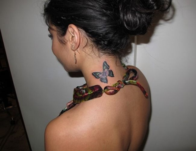 Butterfly Tattoo by Vanessa Hudgens | Tattoos for Women