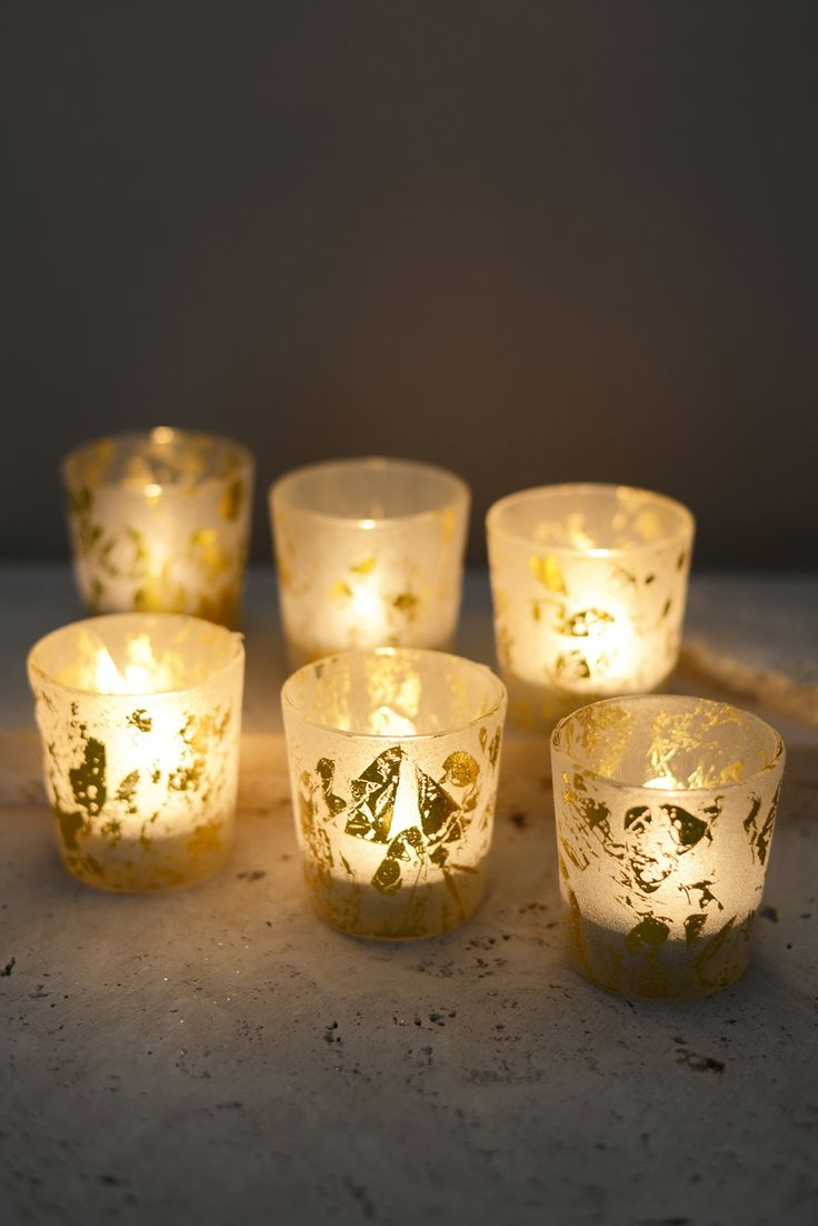 best 25 gold votive candle holders ideas on pinterest