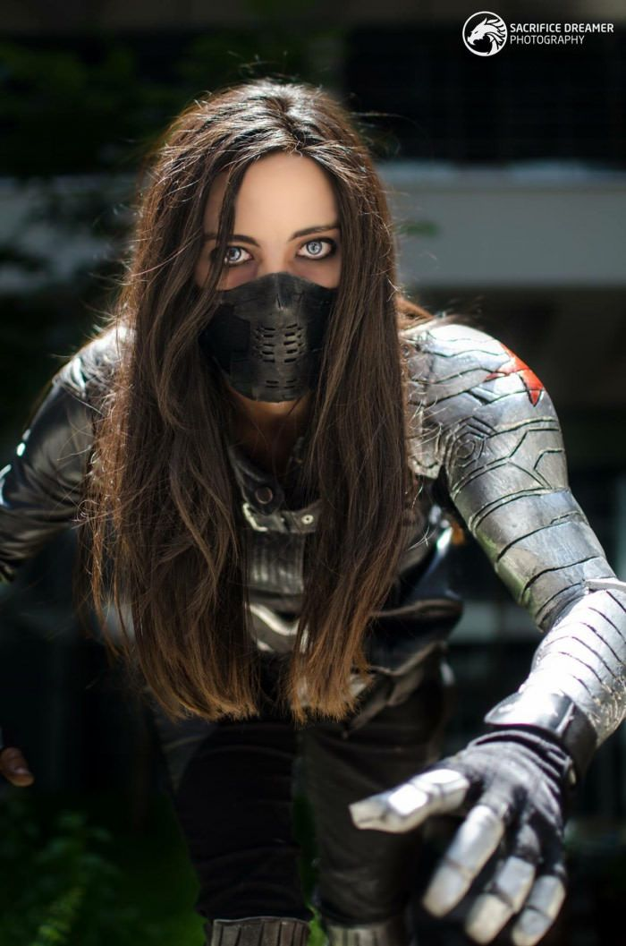 Bucky(Winter Soldier) Cosplay - 9GAG