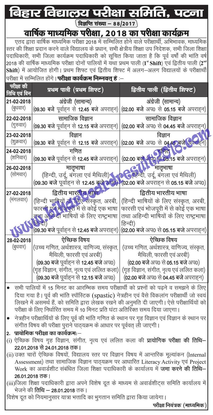 Bihar School Examination Board, Patna Organizes The Certification Examination Every Year For Higher Secondary And Senior Secondary Students. All Those Students Who Appears In The Examination Are Curiously Wait For Bihar Board Result. Last Year, Bihar Board Result Was Declared Very Late Which Results In Very Inconveniences Faced By Intermediate Students.