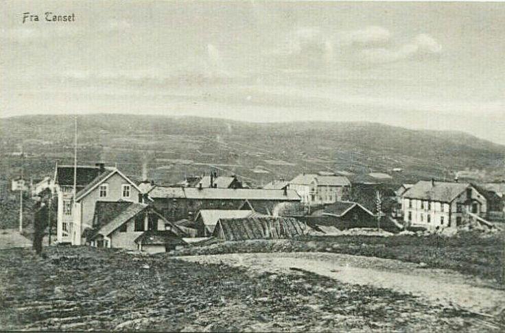 Hedmark fylke Tynset kommune Tønset. Utg A.B. Tidlig 1900-te