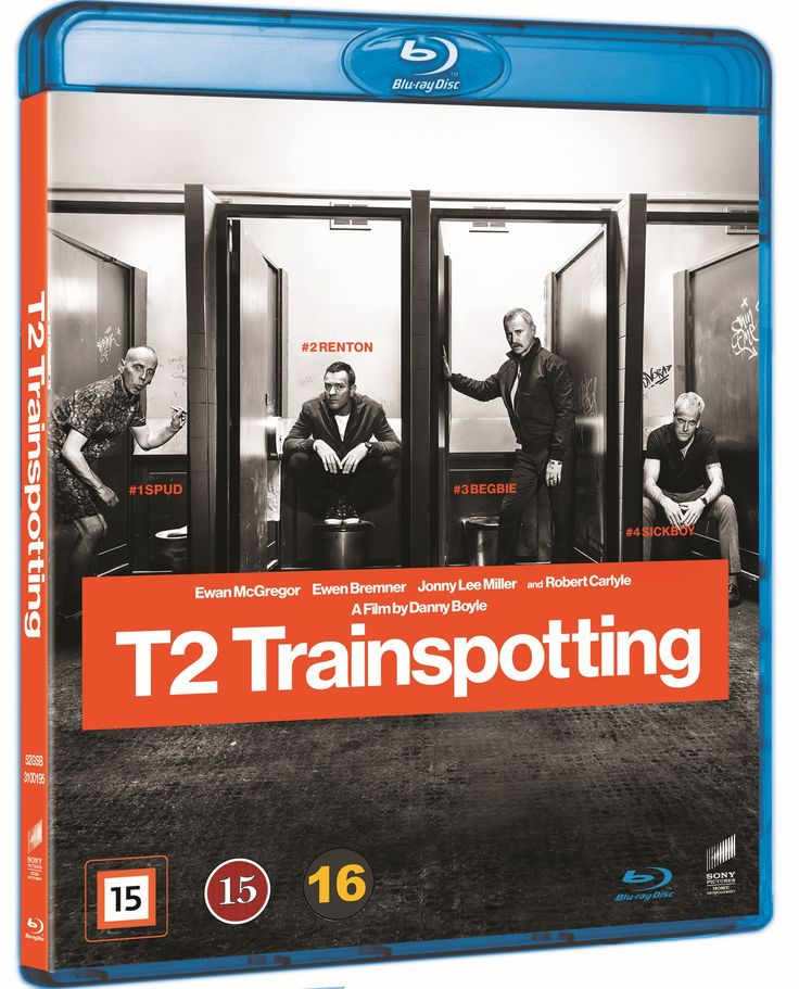 6,95e T2: Trainspotting 2 (Blu-ray)