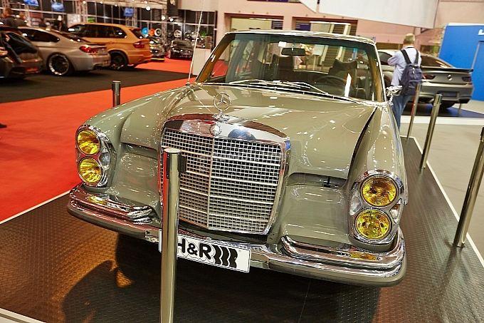 1967 Mercedes-Benz 250 SE With C 36 AMG Engine.