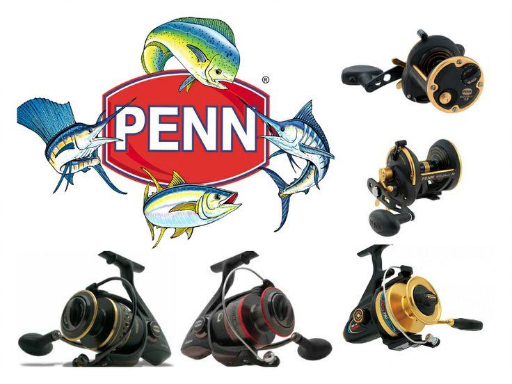 (PENN fishing reels)  PENN Battle 4000,6000,8000 PENN Fierce 4000,6000,8000 PENN Spinfisher 750ssm PENN Squall 15 star drag Penn Squall 30 star drag
